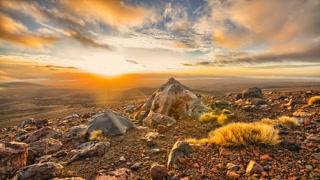 Primal Earth Images Sunrise Volcanis Landscape Nz