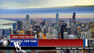 Breaking News Graphic And Lower Third Pack