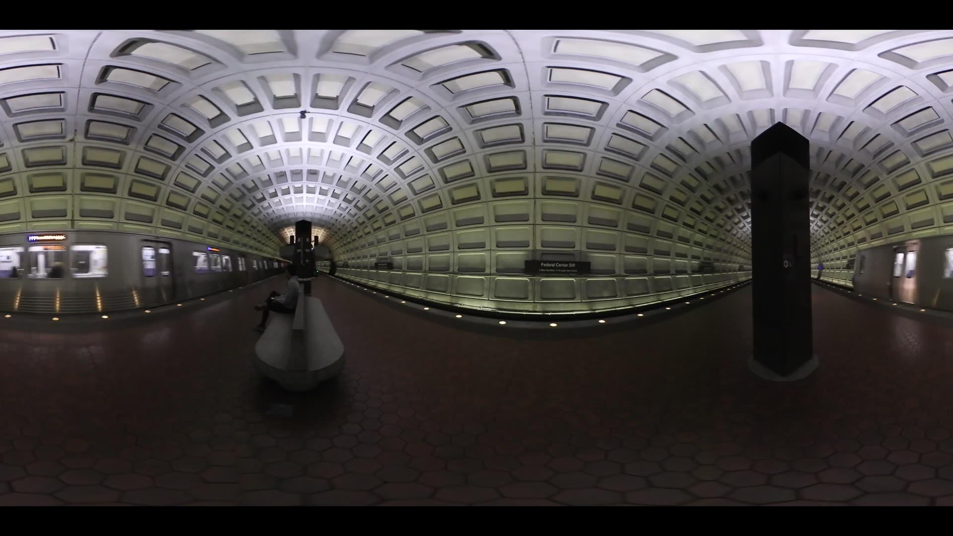 360 VR Metro Station Washington DC