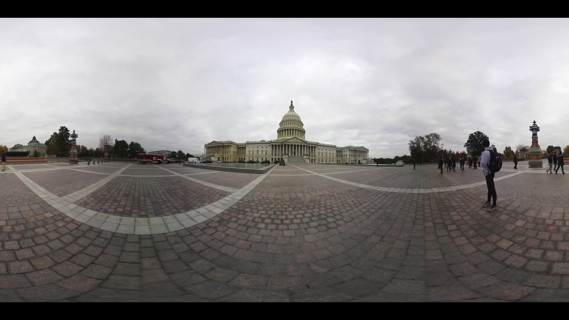 360 VR United States Capitol Building and Congress
