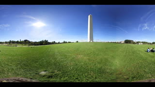 360 VR Video Washington Monument Dc