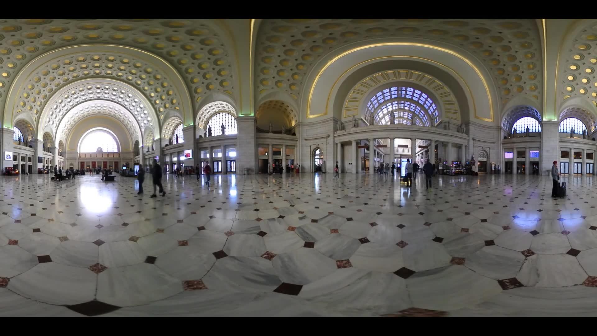 Inside Union Station Washington DC 360 VR