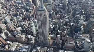 Empire State Building Pan Up