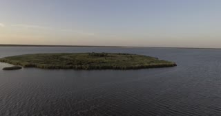 Lake Jesup On Sunset In Orlando Florida