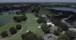 MetroWest Aerial of Golf Coarse In Orlando
