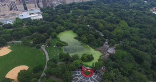 NYC Central Park Aerial Shot
