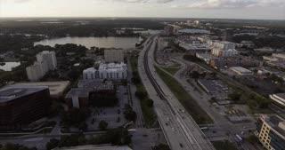 Orlando Florida Aerial View