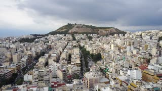Aerial Footage of Athens, Greece