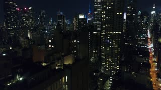 Aerial Footage of the Empire State Building from Flatiron, New York City