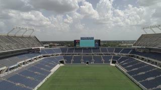 Aerial of Camping World Stadium in Orlando, Florida