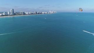 Aerial of Miami Beach 2017