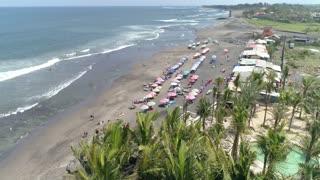 Bali Echo Beach Aug 2019 Aerial 150