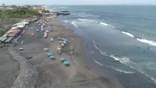Bali Echo Beach Aug 2019 Aerial 154
