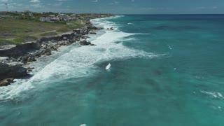Cancun Aerial March 2018 Beach 10