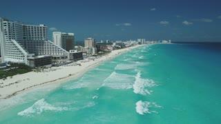 Cancun Aerial March 2018 Beach 219