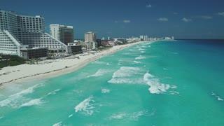 Cancun Aerial March 2018 Beach 220