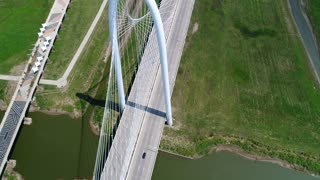 Dallas Bridge Aerial 9 Top Down