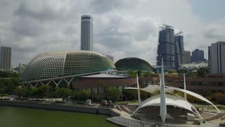 Singapore Aerial Downtown Architecture Marina Bay Sands Goverment Buildings 12 Culture