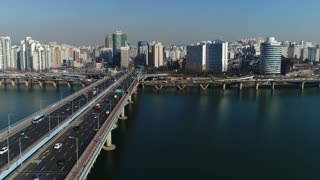 South Korea 121 City Aerial