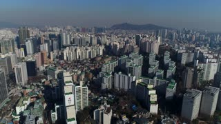 South Korea 125 City Aerial