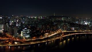 South Korea 153 City Aerial