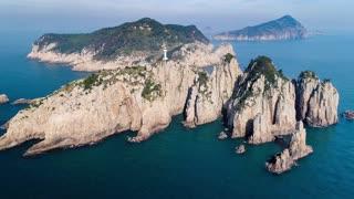 South Korea 174 City Aerial Island