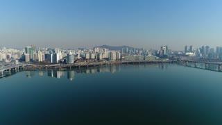 South Korea City Aerial 100
