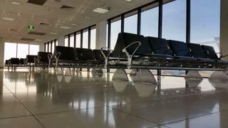 Airport Terminal Departure Gate