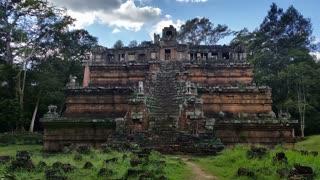 Angkor Thom Cambodia ancient stone ruin temple