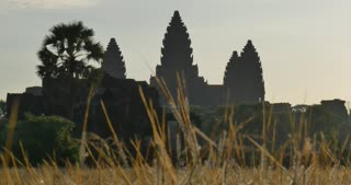 Angkor Wat Cambodia ancient stone ruin temple morning light