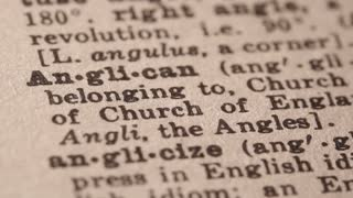 Anglican - a Protestant who is a follower of Anglicanism.
