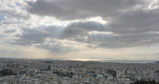 Athens Greece city scape panorama