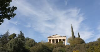 Athens Greece Temple of Hephaestus or Hephaisteion