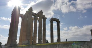 Athens Greece Temple of Olympian Zeus
