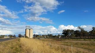 Australian Landscape - Grain Store Agriculture