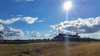 Australian Landscape - Grain Store