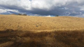 Australian Landscape Rural Country Hill Establishing Shot