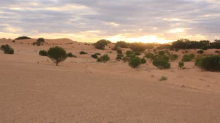 Australia's red center sand dune desert outback landscape time lapse