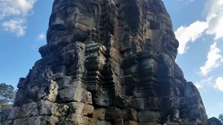 Bayon The Temple of Faces at the center of Angkor Thom