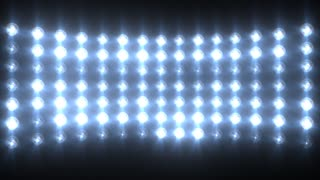 Blue Flashing Lights Stage Sports Stadium Background