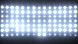 Blue Wall of Lights Stage Sports Stadium Background