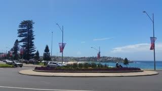 Bondi or Bondi Bay is a popular beach on a hot summers in Sydney, Australia on January 22, 2015. It is one of Australia's most popular beaches.
