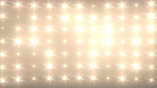 Bright Flashing Wall of Lights Concert Stage Sports Stadium Background