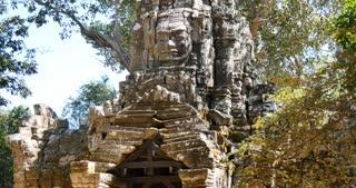 Cambodia Angkor Wat temple ancient ruin complex Ta Som