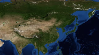 China from space slow zoom China, officially the People's Republic of China, is a sovereign state located in East Asia. It is the world's most populous countr