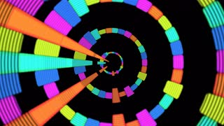 colorful Audio Music Equalise Levels Graphic Computer Generated Technology