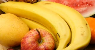Diet and dieting healthy natural fresh fruits