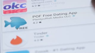 Editorial - MAY 2016: Internet online dating mobile application in app store