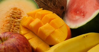 Fruit natural sweet healthly food group