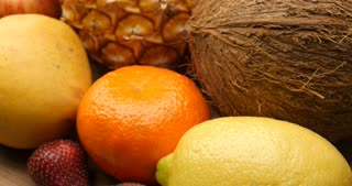 Fruits health daily eating and vitamin rich diet